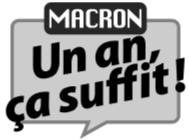 Macron un an ca suffit picto